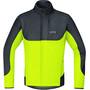 GORE WEAR C5 Gore Windstopper Thermo Trail Jacke Herren black/neon yellow