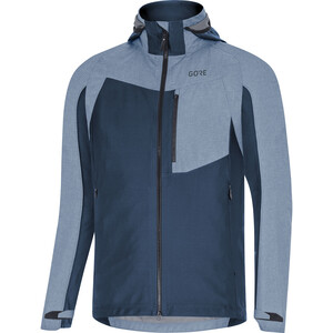 GORE WEAR C5 Gore-Tex Infinium Hybrid Hooded Jacket Men deep water blue deep water blue