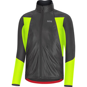 GORE WEAR C5 Gore-Tex Infinium Soft Lined Thermo Jacke Herren black/neon yellow black/neon yellow