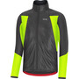 GORE WEAR C5 Gore-Tex Infinium Soft Lined Thermo Jacke Herren black/neon yellow