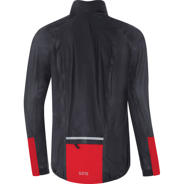 GORE WEAR C5 Gore-Tex Shakedry 1985 Vis Jacket Herr black/red