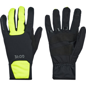GORE WEAR M Gore Windstopper Thermo Handschuhe schwarz/gelb schwarz/gelb
