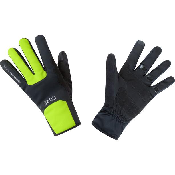 GORE WEAR M Gore Windstopper Thermo Handschuhe black/neon yellow