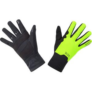 GORE WEAR M Gore-Tex Infinium Mid Handschuhe schwarz/gelb schwarz/gelb