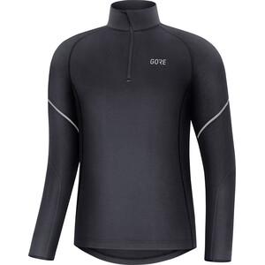 GORE WEAR M Mid Langarm Zip Shirt Herren schwarz schwarz