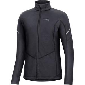 GORE WEAR M Thermo Langarm Zip Shirt Damen black black