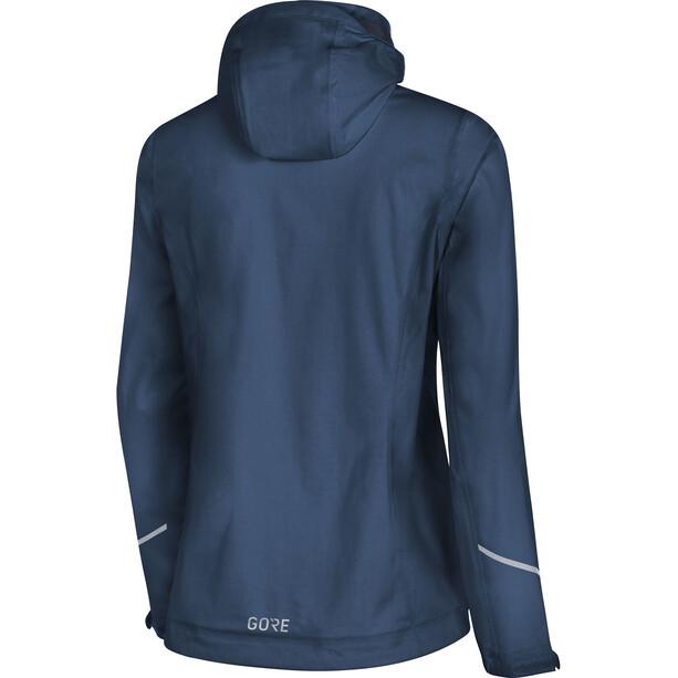 GORE WEAR R3 Gore-Tex Active Veste à capuche Femme, deep water blue