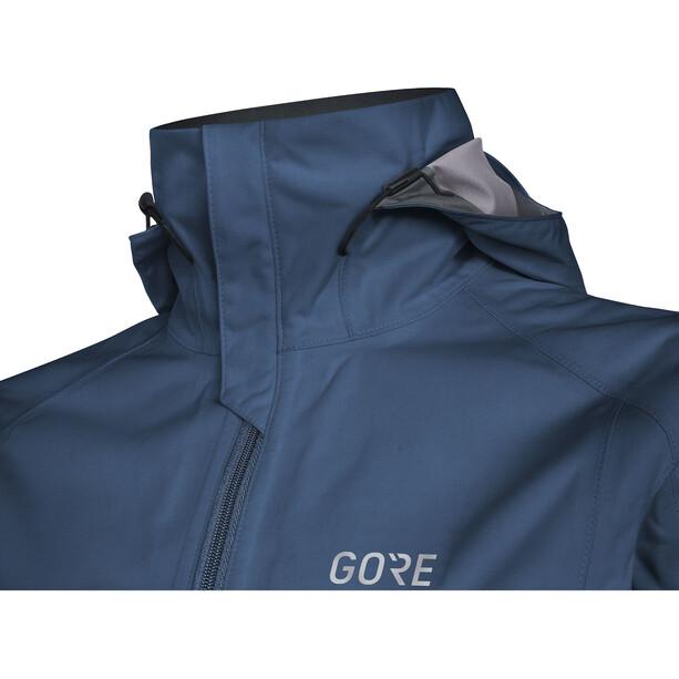 GORE WEAR R3 Gore-Tex Active Kapuzenjacke Damen deep water blue