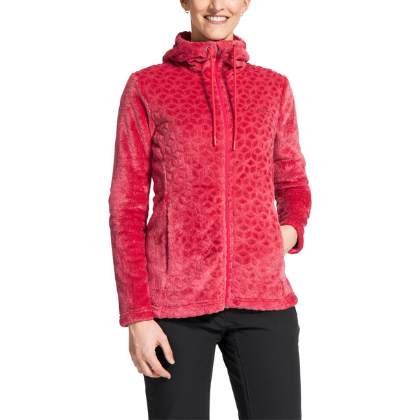 VAUDE Skomer Soft Fleecejacke Damen bright pink