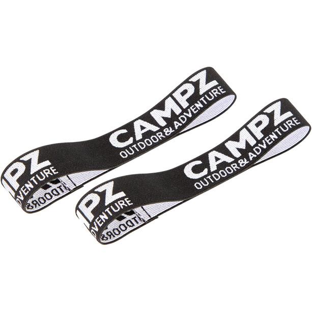 CAMPZ Gurtbänder für Matten schwarz