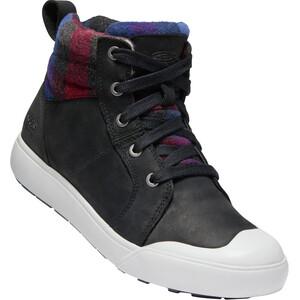 Keen Elena Mid-Cut Schuhe Damen black/plaid black/plaid