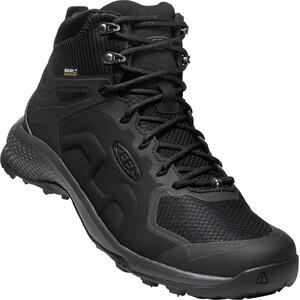 Keen Exp*** Mid WP Schuhe Herren black/magnet black/magnet