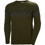 Helly Hansen Wollstrickpullover Herren forest night