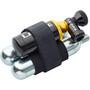 Lezyne Tubeless CO2 Blaster Dekkreparasjonssystem inkludert 2 CO2-kassetter Svart/gull