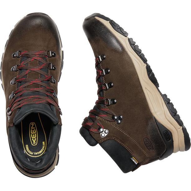 Keen Feldberg Apx WP Shoes Herr Ebony/Brown