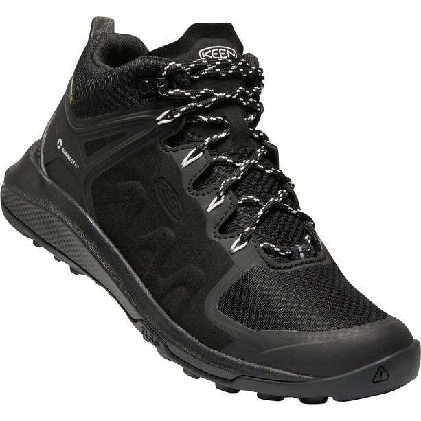 Keen Explr Mid WP Shoes Women Black/Star White