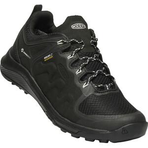 Keen Explr WP Shoes Dam Black/Star White Black/Star White