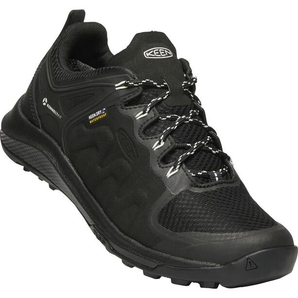 Keen Explr WP Shoes Dam Black/Star White