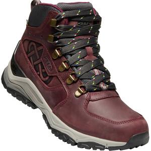 Keen Innate WP Leather Mid Shoes Dam Burgundy/Shark Burgundy/Shark