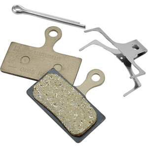 Shimano G03S Resin Disc Brake Pads for XT/SLX/Alfine grey grey