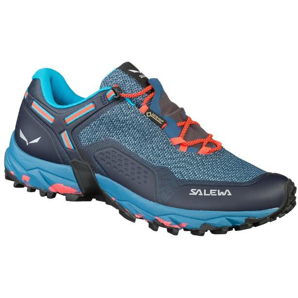 SALEWA Speed Beat GTX Schuhe Damen patriot blue/fluo coral