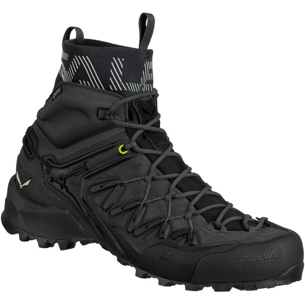 SALEWA Wildfire Edge GTX Mid-Cut Schuhe Herren black/black