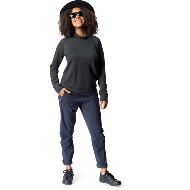 Houdini Campus Crew Midlayer Dam true black
