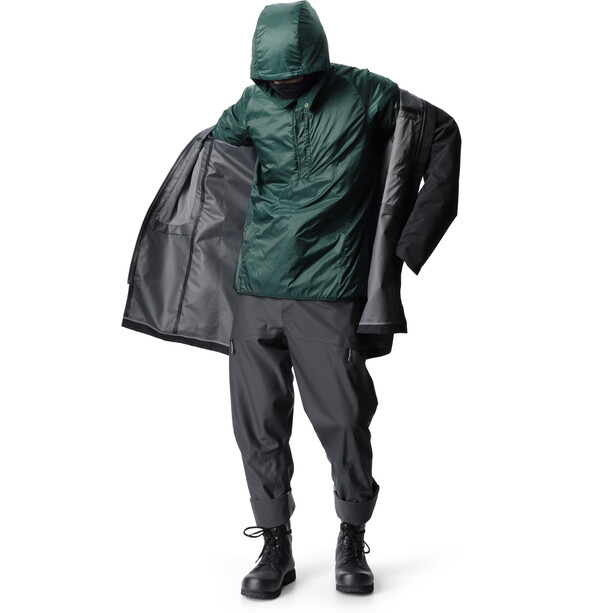 Houdini One Parka Herr True Black