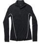 Houdini Desoli Zip Shirt Damen true black