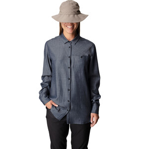 Houdini Out And About Shirt Damen blue illusion blue illusion