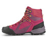 SALEWA Alpenviolet GTX Mid Shoes Dam red plum/orange popsicle