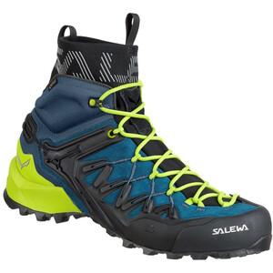 SALEWA Wildfire Edge GTX Mid Shoes Herr poseidon/cactus poseidon/cactus