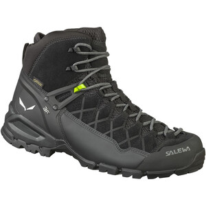 SALEWA Alp Trainer Mid GTX Hiking Shoes Herr black/black black/black