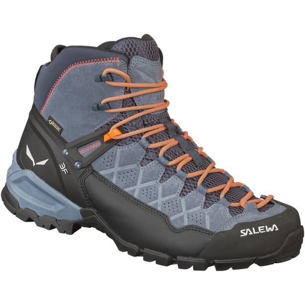 SALEWA Alp Trainer Mid GTX Hiking Shoes Herr ombre blue/fluo orange