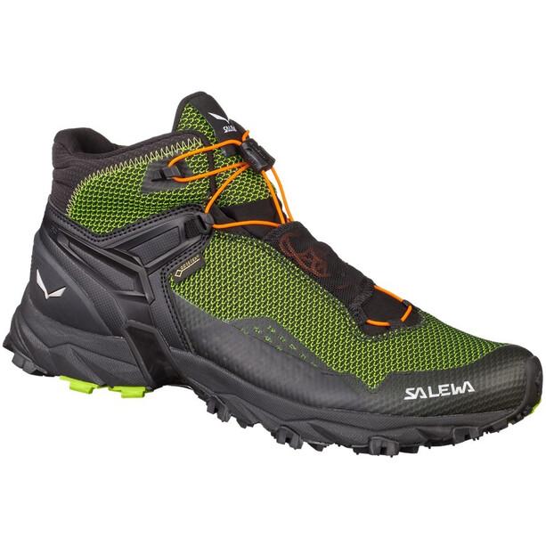 SALEWA Ultra Flex Mid GTX Hiking Shoes Herr cactus/fluo orange