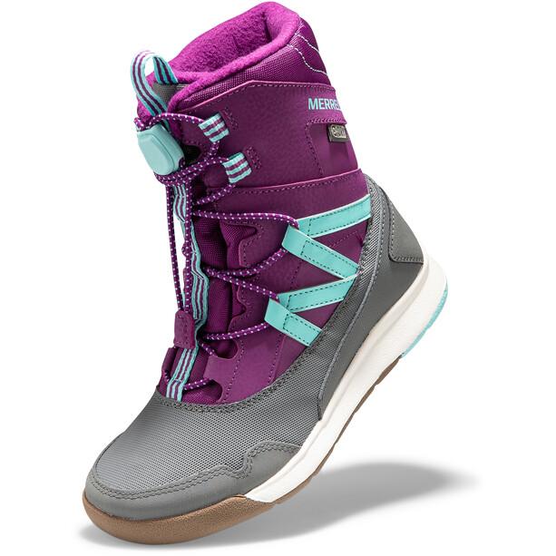 Merrell Snow Crush WP Stiefel Mädchen purple/turquoise