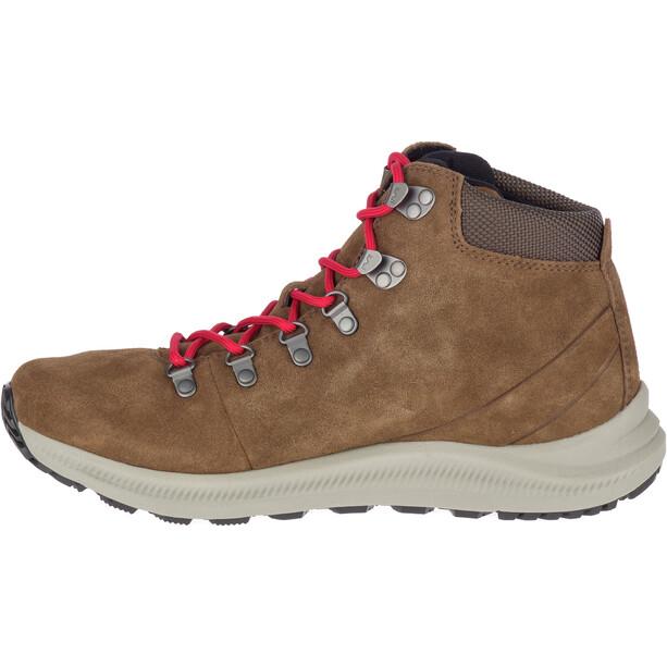 Merrell Ontario Suede Mid-Cut Schuhe Herren earth