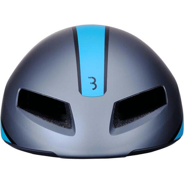 BBB Tithon BHE-08 Helm matt gray/blue