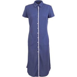 super.natural Waterfront Piquet Kleid Damen blau/weiß blau/weiß
