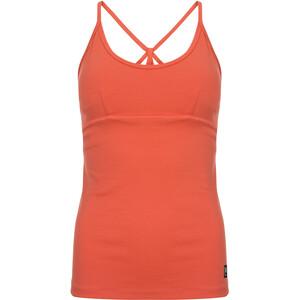 super.natural Motion Débardeur Yoga Femme, orange orange