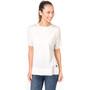 super.natural Slash Neck T-Shirt Damen moonlight melange