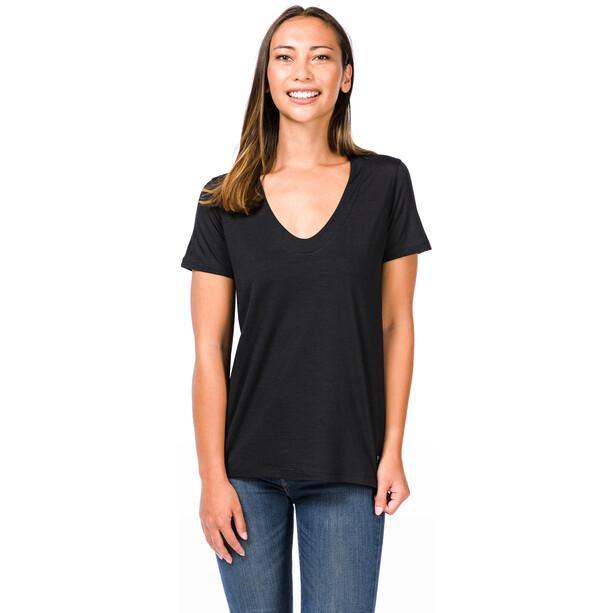 super.natural City T-Shirt Damen jet black