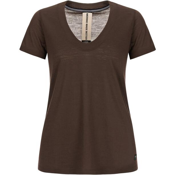 super.natural City T-Shirt Damen mole