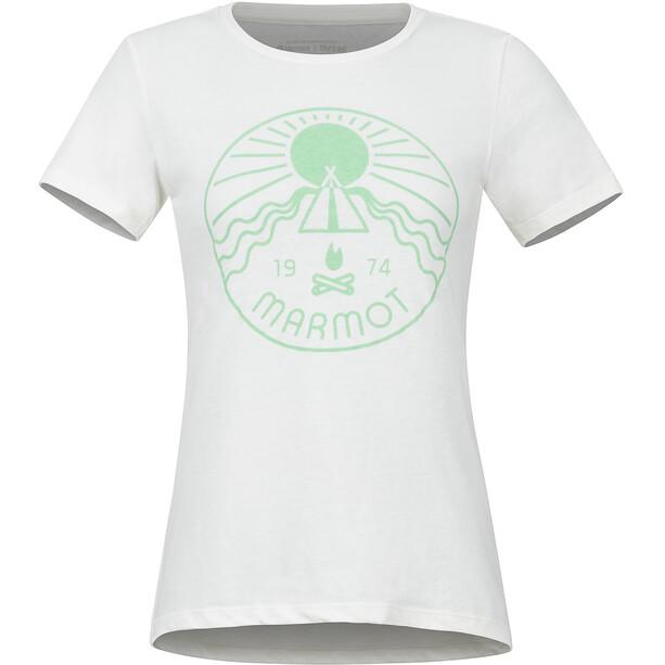 Marmot Prism Lyhythihainen T-paita Naiset, valkoinen