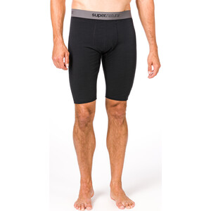 super.natural Base 175 Tights Kurz Herren jet black jet black