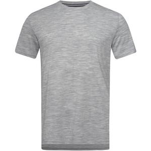 super.natural Graphic T-Shirt Whale Print Herren ash melange/jet black ash melange/jet black