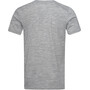 super.natural Graphic T-Shirt Preserving M Print Herren ash melange/jet black