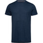 super.natural Graphic T-Shirt Herren blue iris melange/jet black