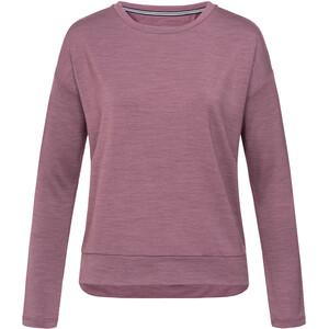 super.natural Jonser Sweater Damen berry conserve melange berry conserve melange