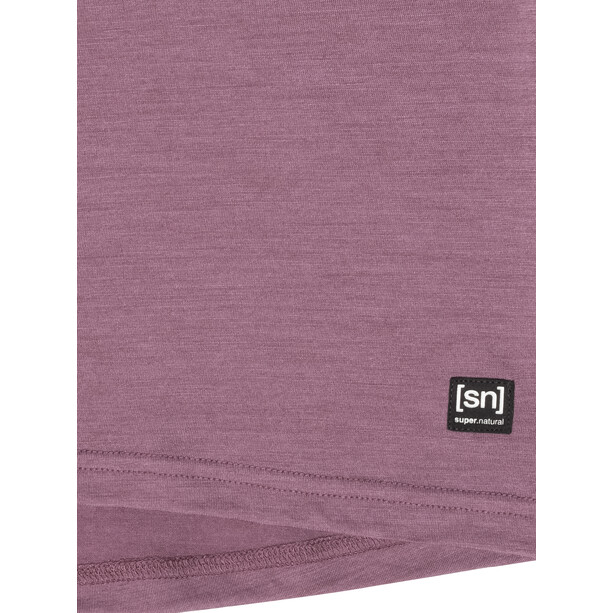 super.natural Everyday T-Shirt Damen berry conserve melange